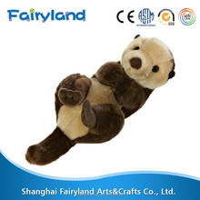 plush sea otter toys deep sea animal plush toys
