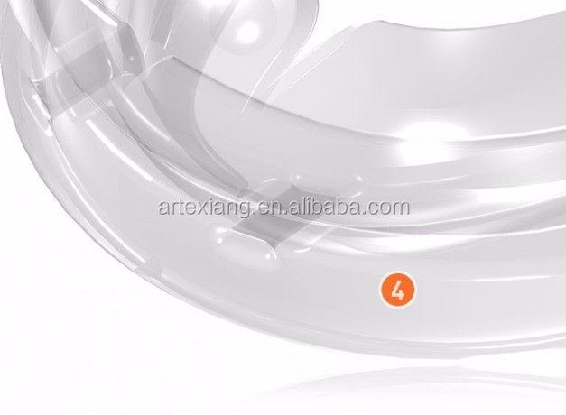 TMJ Appliance for TMJ disorder/Silicone Dental Orthodontic Teeth Trainer Appliance/MRC Tooth Appliance TMJ