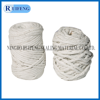 Dust Free rock wool twisted /round Rope