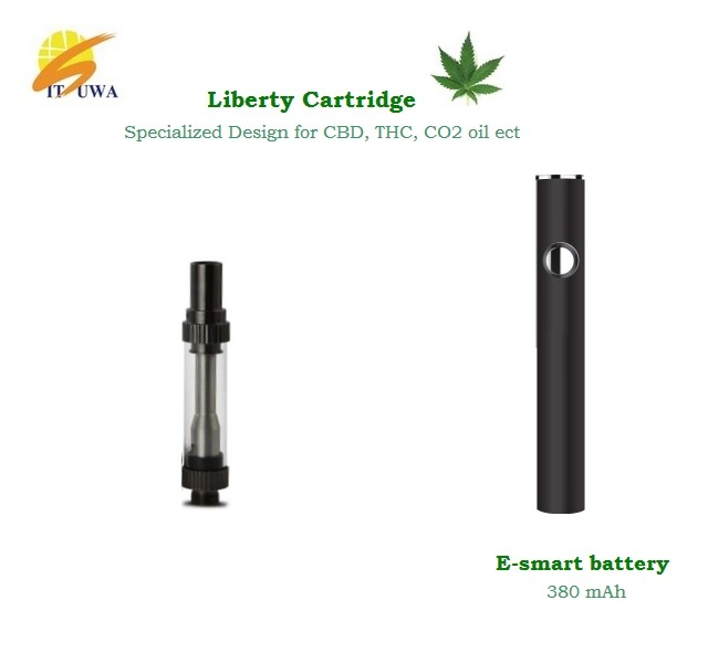 USA hot metal mouthpiece cbd oil vape pen cartridge glass tank