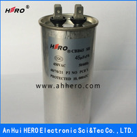 CBB65 450V 45uF run plastic film capacitor