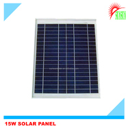 Customized Aluminum frame 15 watt 15 volt solar panel