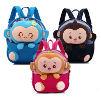 New Arrival Hot Sale Children Backpacks Canvas Cartoon Doll Kids School Bags For Infant Child BA40830-3