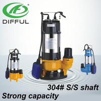 floating pump submersible water pump 1hp submersible sewage pump