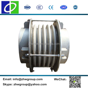 Corrugated hose expansion bellows ss expansion joint