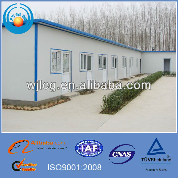 durable residential home building and construction housing with EPS sandwich panel from china