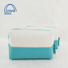 LYD 2018 New Arrival Fashion Ladies Make Up Pouch Toiletry Bag Diamond PU Leather Cosmetic and Beauty bags