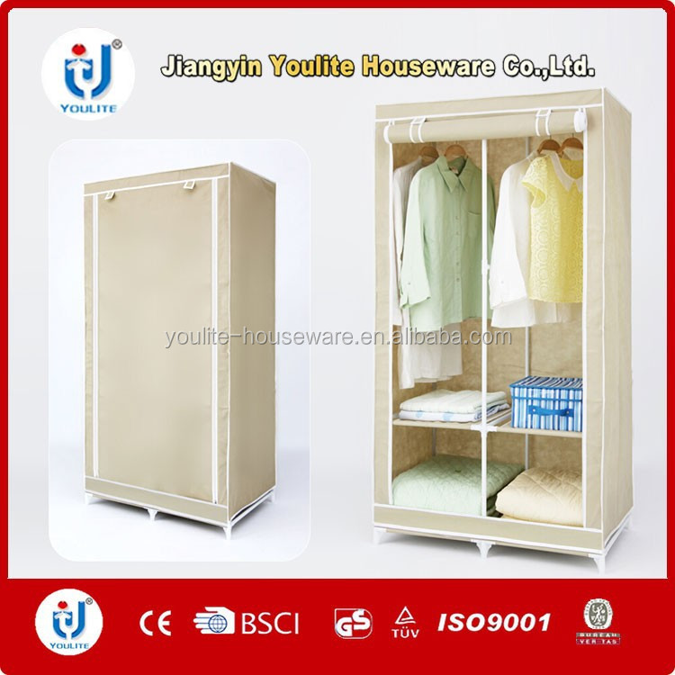 fast supplier high qulity canvas wardrobe