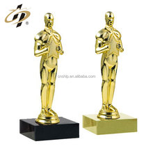 2016 New design high quality wholesale price custom metal oscar awards trophy cups