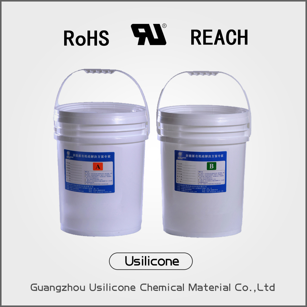 Two part epoxy gel compound sealing/encapsulation