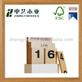 stationery set wooden calendar advant natural wooden calender