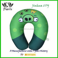 Design Neck Pillow stuffed soft Micro Beans