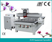 Jinan Sudiao high quality & Own design SD-1325(1300*2500*200mm) Top one reasonable price DSP wood engraving cn router