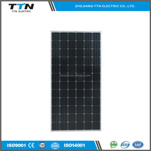 TTN Brand The fashionable lower price hot sale monocrystalline soalr panel 300w on or off grid system
