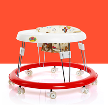 Alibaba china manufacturer cheap price plastic toy old fashioned baby walker red and white