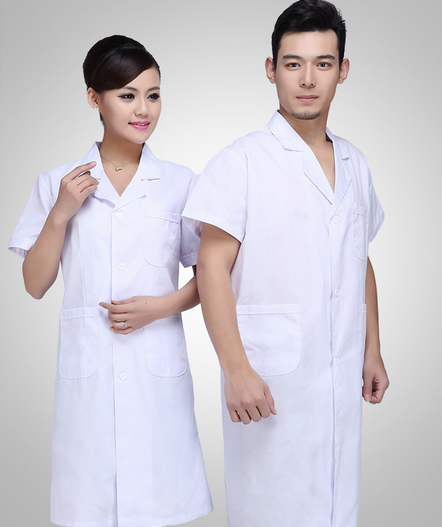 printed high quality cotton popular latest design clonic medical healthy sanitary unisex plain fabric promotional nurse uniform