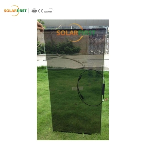 48 Watt Frameless Thermodynamic House Pv Thin Film Amorphous Silicone Sun Solar Panel