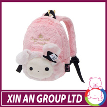 2014 hottest &cheapest plush rabbit bag manufacturer