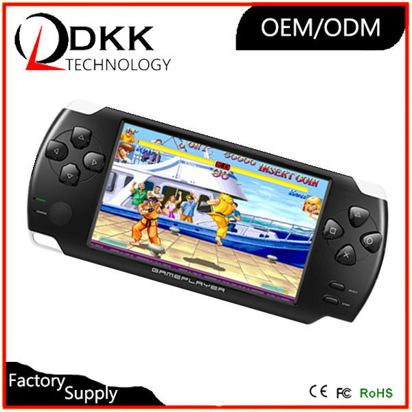 Hot Selling game machines sale 4.3 inch 8GB touch screen handheld game console support TF card Video Music Picture mp6 game play