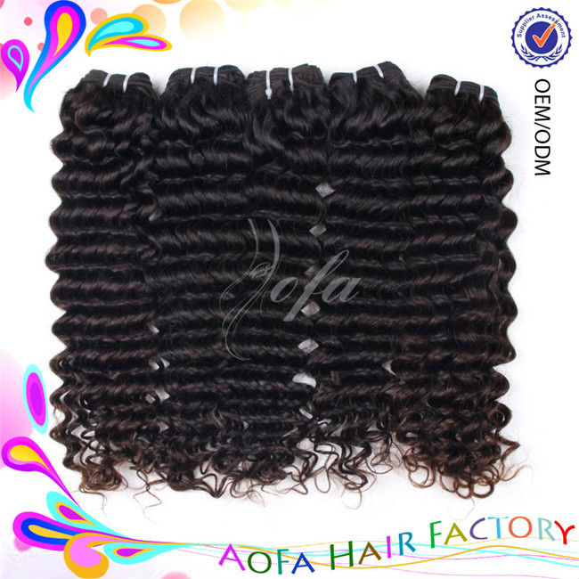 2014 hot selling Brazilian style deep wave 6A the best human hair