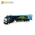 Guangdong 4 functions remote control rc container truck trailer with light and music