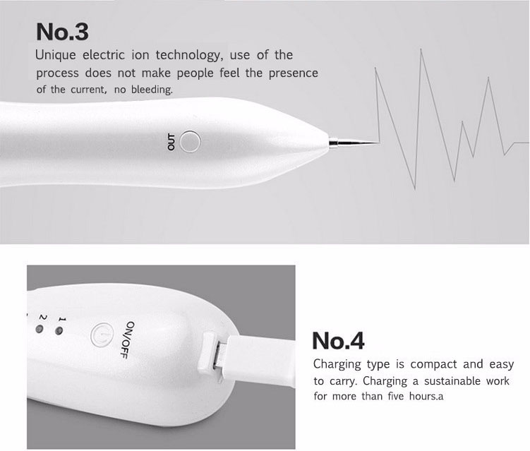 beauty machine mini skin care freckle removal pen Skin mole removal machine spot treatment pen