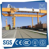 ship to shore container gantry port mobile cranes