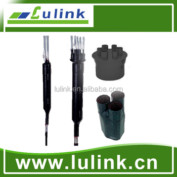 Durable heat shrink tube,telecom copper straight/branch cable joint closure heat shrink closure