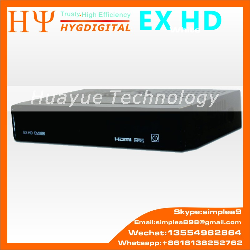 Genuine HEROBOX EX HD DVB-S2 HD Linux Enigma2 751MHz MIPS digital satellite TV receiver Blackhole Openpli Set top BOX