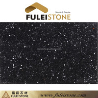 Cheap Price China Artificial Black Cultured Marble Slabs