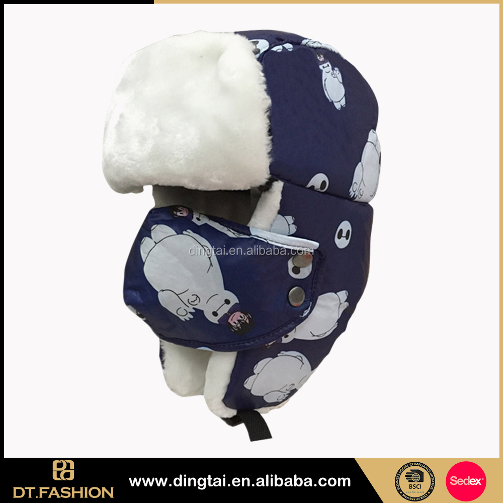 Girls Fashion Wholesale High Quality Fashion Faux Fur Trapper Trooper Warm Ear Flaps winter hats for women
