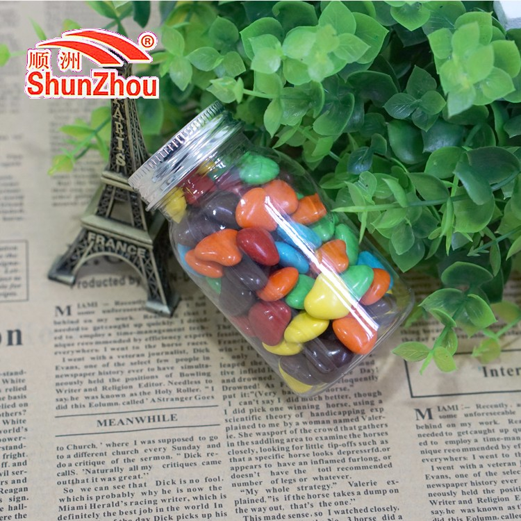 65g wish bottle heart shape crispy chocolate beans sweets