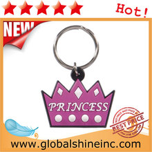 high quality pvc rubber keyring /custom 3d motorcycle rubber keychain