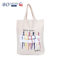BSCI Directly Character Cheap Cartoon Canvas ECO Shopping Bag