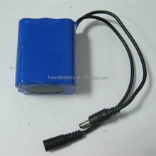 Deep Cycle 7.4v 1300mah li-ion power battery/Li-polymer Digital Ptoduct Battery Pack
