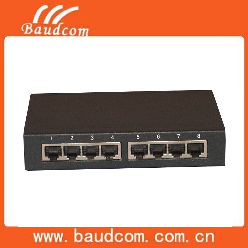 8Channel Serial RS232 to Ethernet Converter