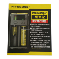 In stock Nitecore Intellicharger I2 V2 18650 battery charger for ecig from heavengifts