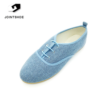 Factory discount fashion ladies beautiful flat casual shoes for footwear