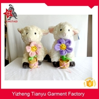 China OEM stuffed animal with plants vs zombies heronsbill plush sheep toys