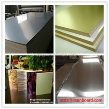 Waterproof Aluminium Foil Faced MDF/Plywood E1 grade, Aluminum MDF Wood Panel