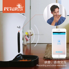 Petwant Wi-Fi Pet Feeder Automatic App Control Pet Feeder Wifi for Sale Cheap