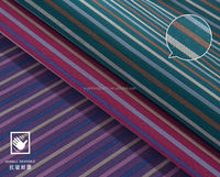 POLYESTER/COTTON YARN DYED STRIPE WOVEN FABRIC