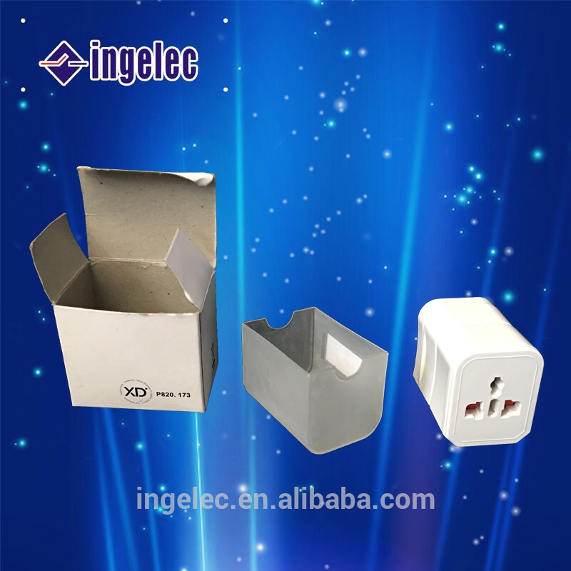 Wholesale 220-110v detachable plug power adapter multi plug male to male electrical wall plug adapter
