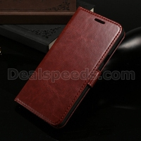Litchi Skin Horizontal Flip Wallet Leather Phone Skin for Samsung Galaxy Note 5