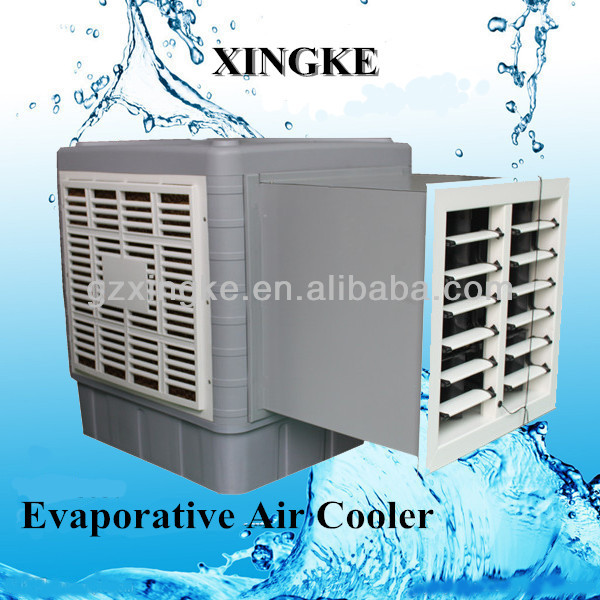 air cooler for Indonesia, bedroom&living room use/wall window mounted evaporative air cooler/ XingKe air water conditioner