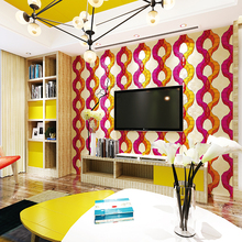 hot design suppress foaming interior 3d decorative wallpaper sticker for bar