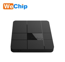 2018 hot sale Wechip V8 Quad core s905w android tv box hd free movie 1/8g 2/16g