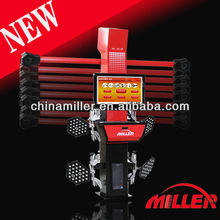 MILLER high accuracy precise digital latest computer 3d wheel alignment with advanced camera for 2013(ce certificate)