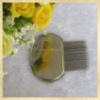 The round handle steel flea comb