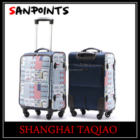 sanpoints usa flag trolley case